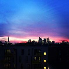 Magic London sky. #london #england #uk #sunset #sky