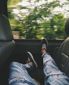 Araba yolculuğu