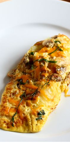 Omelettes are simple and make a great breakfast or brunch.