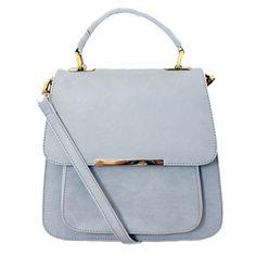 Leatherette Shoulder Bag