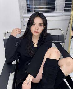 Blackpink Jisoo, South Korean Girls, Korean Girl Groups, Blackpink Poster, Lisa Park, Blackpink Debut, Kpop Girls, My Girl, Your Girl