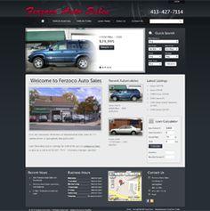 Used auto dealer SEO Website Design at http://www.FerzocoAutoSales.com