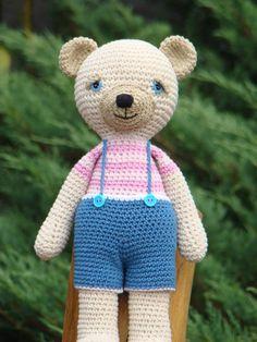 Bunny, Teddy Bear, Knitting, Toys, Crochet, Animals, Bebe, Activity Toys, Cute Bunny