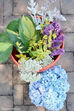 I put together a quick and easy garden arrangement with flowers and greenery from the garden for a little flower therapy and am sharing some flower arranging ti… #easygardening