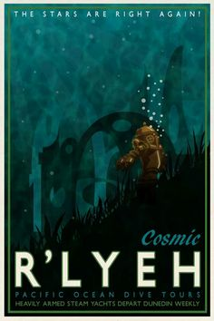 The stars are right again R'lyeh poster