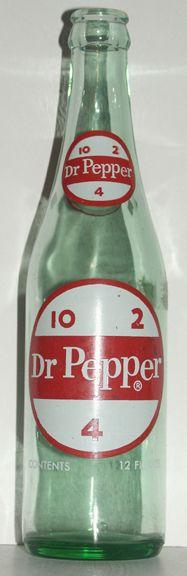 Old Dr. pepper bottle 10, 2 & 4!!