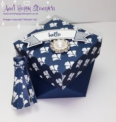 Ann's Happy Stampers: Floral Boutique Diamond Gift Box