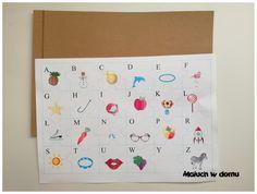 4 wersje puzzli z alfabetem: litery pisane i drukowane, małe i wielkie. Do pobrania za darmo.