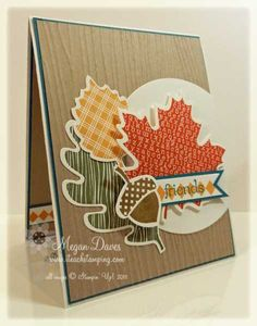 Stampin' Up!'s Wonderfall – Not a Thanksgiving Card – Video Tutorial   I Teach Stamping