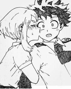 izuku x ochako adult \ izuku x ochako _ izuku x ochako comic _ izuku x ochako cute _ izuku x ochako lemon _ izuku x ochako kiss _ izuku x ochako family _ izuku x ochako adult _ izuku x ochako comic english My Hero Academia Episodes, My Hero Academia Memes, Hero Academia Characters, My Hero Academia Manga, Anime Characters, Deku X Uraraka, Estilo Anime, Buko No Hero Academia, Fan Art