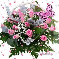 Floral Wreath, Gifs, Wreaths, Home Decor, Homemade Home Decor, Door Wreaths, Deco Mesh Wreaths, Garlands, Floral Arrangements