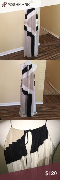 Tibi Maxi Dress NWT. There are some minor deodorant stains from it being tried on as pictured. Tibi Dresses Maxi