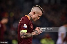 News Photo : Radja Nainggolan of AS Roma during the Serie A...