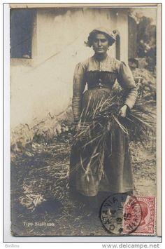 Italian Vintage Photographs ~ COSTUME Sicilia