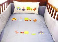 Resultado de imagen de colchas para cunas de bebes.imagenes