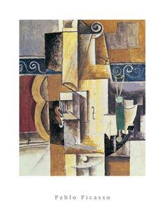 Pablo Picasso-Violin and Guitar