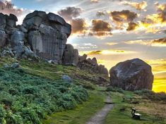 Cow and Calf Rocks, Ilkley Moor, Ilkley, West Yorkshire, United Kingdom England Ireland, England And Scotland, England Uk, London England, Leeds England, Yorkshire England, Yorkshire Dales, North Yorkshire, Northern England