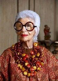 Iris Apfel - Vogue.it