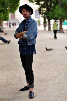 Paris Street Style : Randy Ceballos