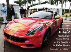 DUAIV Ferrari FF, Cavallino Classic 2015 at the Breakers hotel in Palm Beach