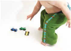 Wollhose Babyhose Hose aus Wolle von PicknickerBlue auf Etsy