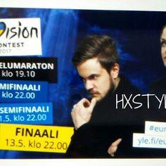 EUROVIISUT Toukokuussa 9 - 13.pv 2017 Ukrainassa, Kiova. 2 Semifanaali ja FINAALI. nfo YLE ja minun Blogi Finaali. Suokea edustaa NORMA JHON:Blackbird. @ylehelsinki @eurovision #kulttuuri #musiikki #kilpailu #maailma #suomi #ukraaina #2017 #eurovision2017  #follow ❤☺