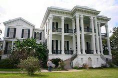 Belle grove plantation louisiana 1857 demolished habs for Casa revival gotica