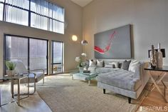 This couch. 340 Ritch St #4, San Francisco, CA 94107 | MLS# 403204 | Redfin