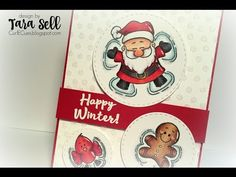 Handmade Holiday 2015: Day 1 ~ CTMH Edition Watercolor Shaker Card - YouTube