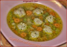 RECEPTEK nem csak ínyenceknek: Húsgombóc leves