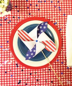 A red, white, and blue holiday with Fiesta® Dinnerware!