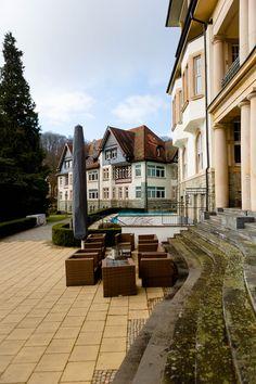 Falkenstein Grand Kempinski Hotel Königstein bei Frankfurt - 5-Sterne-Superior-Luxushotel im Taunus - The Penthouse - Luxussuite mit Blick über die Frankfurter Skyline - Reiseblog