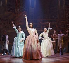 "For this one, the Kings of Hamilton did a gender-swapped version of ""The Schuyler Sisters,"" while Renée Elise Goldsberry, who plays Angelica Schuyler, gender-swapped as Aaron Burr."