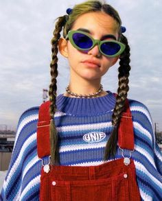 Chance forever Crayola cropped Sweater unif blue Rainbow color Pulover Feminino Block Knitted Loose Oversize Pullovers