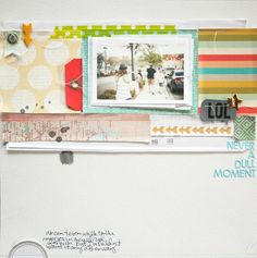 Never a Dull Moment | * Studio Calico Kit * by Marcy Penner @2peasinabucket