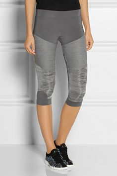 Adidas by Stella McCartney | Studio paneled Climalite® stretch leggings