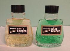 's Cologne & Skin Bracer After Shave Vintage Theme, Vintage Signs, Sweet Memories, Childhood Memories, Vintage Advertisements, Vintage Ads, Men's Aftershave, In Memory Of Dad, Vintage Packaging