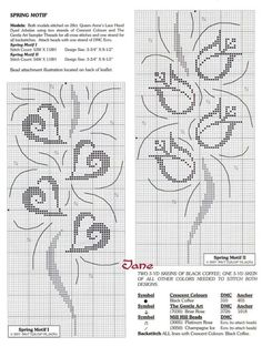Cross stitch embroidery pattern...
