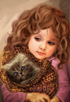 Cute painting. I think
