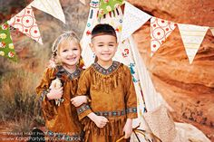 Native American Indian Themed Birthday Party