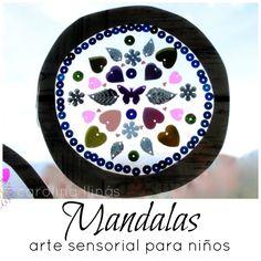los Mandalas son maravillosos para promover la concentración, activar la energía positiva y divertirnos un rato en casa con actividades sencillas.