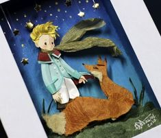 The Little Prince In cut Paper by RaphaelOda