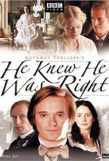 HE KNEW HE WAS RIGHT (miniseries): Laura Fraser . Christina Cole . Bill Nighy  ** Wonderful cast, great acting, fun subplots, but the main story left me cold. Idiot, insecure, jealous husband ruins his happy family and marriage of true love over nothing, emotionally torturing his wife and little son.**