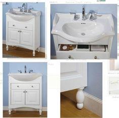 Enhance Your Small Bathroom with Narrow Bathroom Vanities