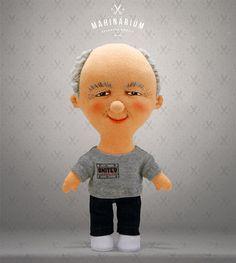 Selfie doll  Frank custom doll caracter doll rag door Mahinarium