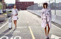 Lineisy Montero and Mica Arganaraz star in Chanel's spring-summer 2016 campaign