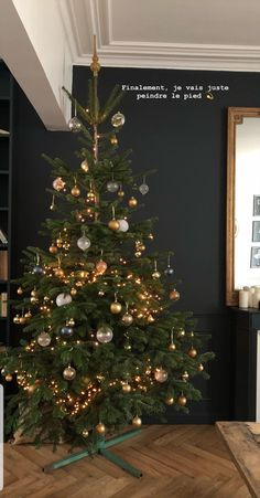 @meleponym Christmas Tree, Holiday Decor, House, Home Decor, Womens Fashion, Teal Christmas Tree, Decoration Home, Home, Room Decor
