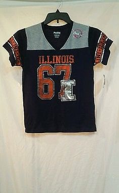 Girls size 14/16 Illinois sports tshirt blue orange fighting Illini brand new BLACK FRIDAY IN JULY IS GOING ON TODAY. SAVE 20% OFF ON THIS AND MORE ITEMS #blackfriday #friday #blackfridayinjuly #flashsale #giftideas #summeroutfits #shopping #forsale #shopnow