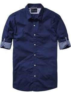 NEW IN AUGUST | SCOTCH & SODA CONTRAST SLIM FIT SHIRT $139.95 | IN STORE NOW