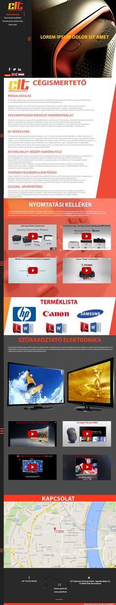 Cyberlearn & Trade GmbH webdesign